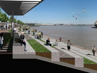 Moonwalk overhaul to boost public space on river's edge