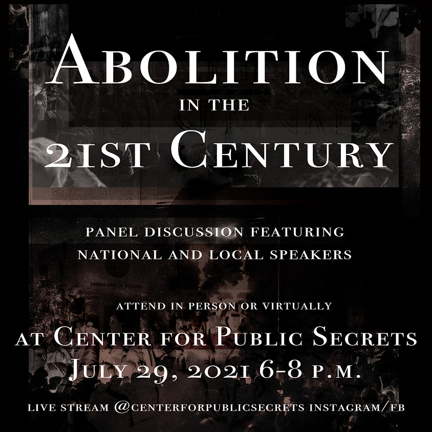 Abolition in the 21st Century - A Panel Discussion