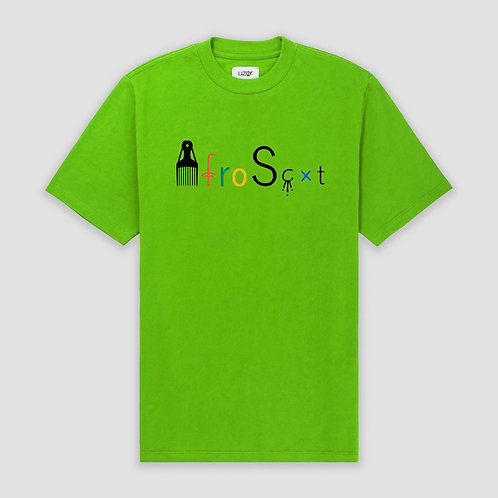 Afro-Scot T-Shirt Lime