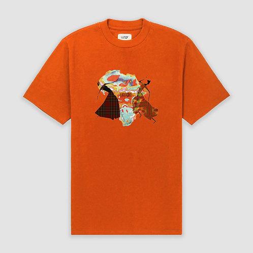 Afro-Scot Roots T-Shirt Orange