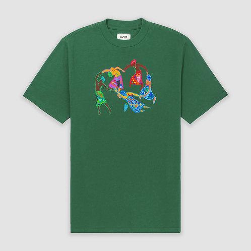 Afro-Scot Dance T-Shirt Green