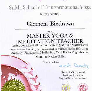 500hrs - Master - Yoga Alliance International