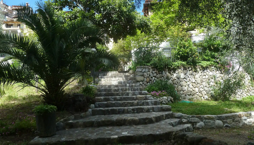 Stairs to the house