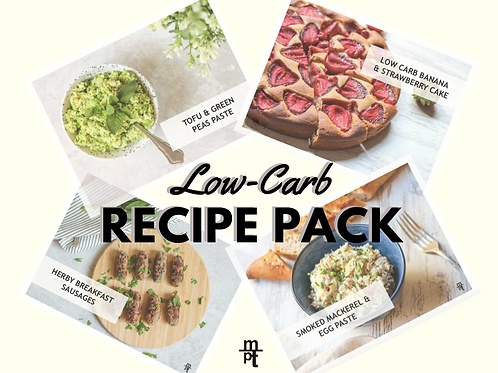 Low-Carb Recipe Pack