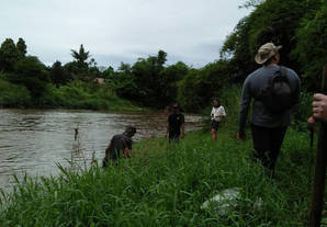 Exploring the Ciliwung River in West Java