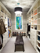 Master Closet with optional built in cabinets