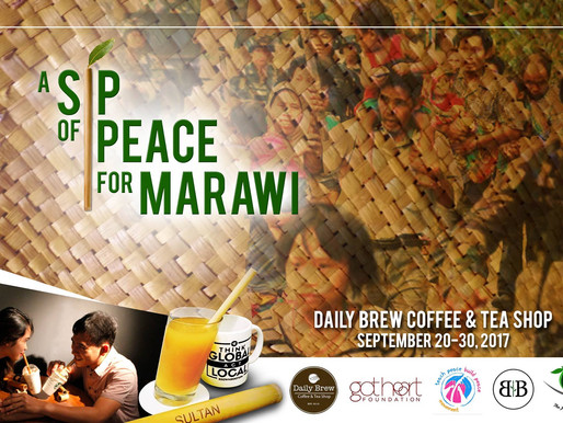 A Sip of Peace in Marawi