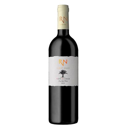 יין נווה מדבר אדום 2017 יקב רמת נגב