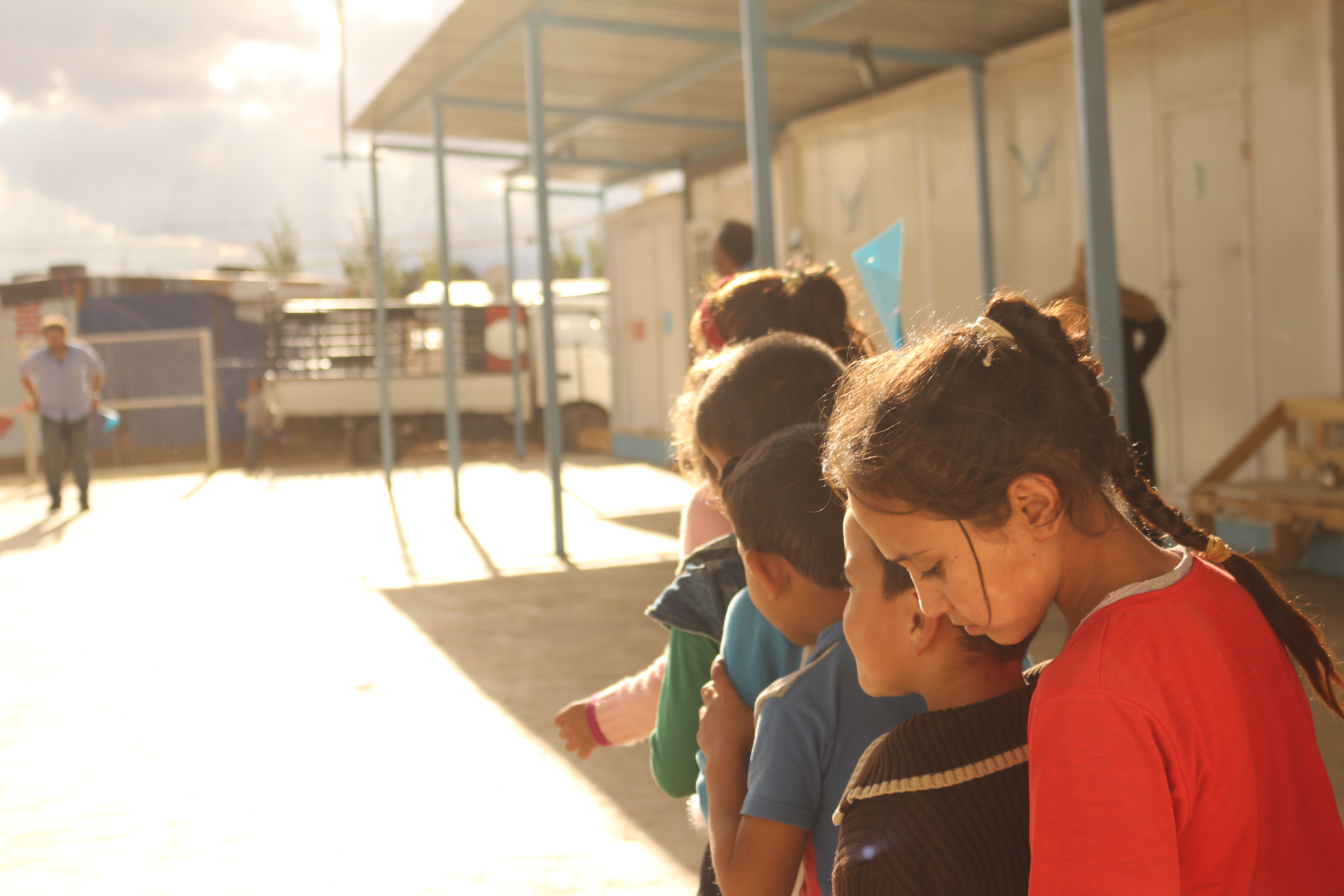 Children of the Dalhamiyya Camp