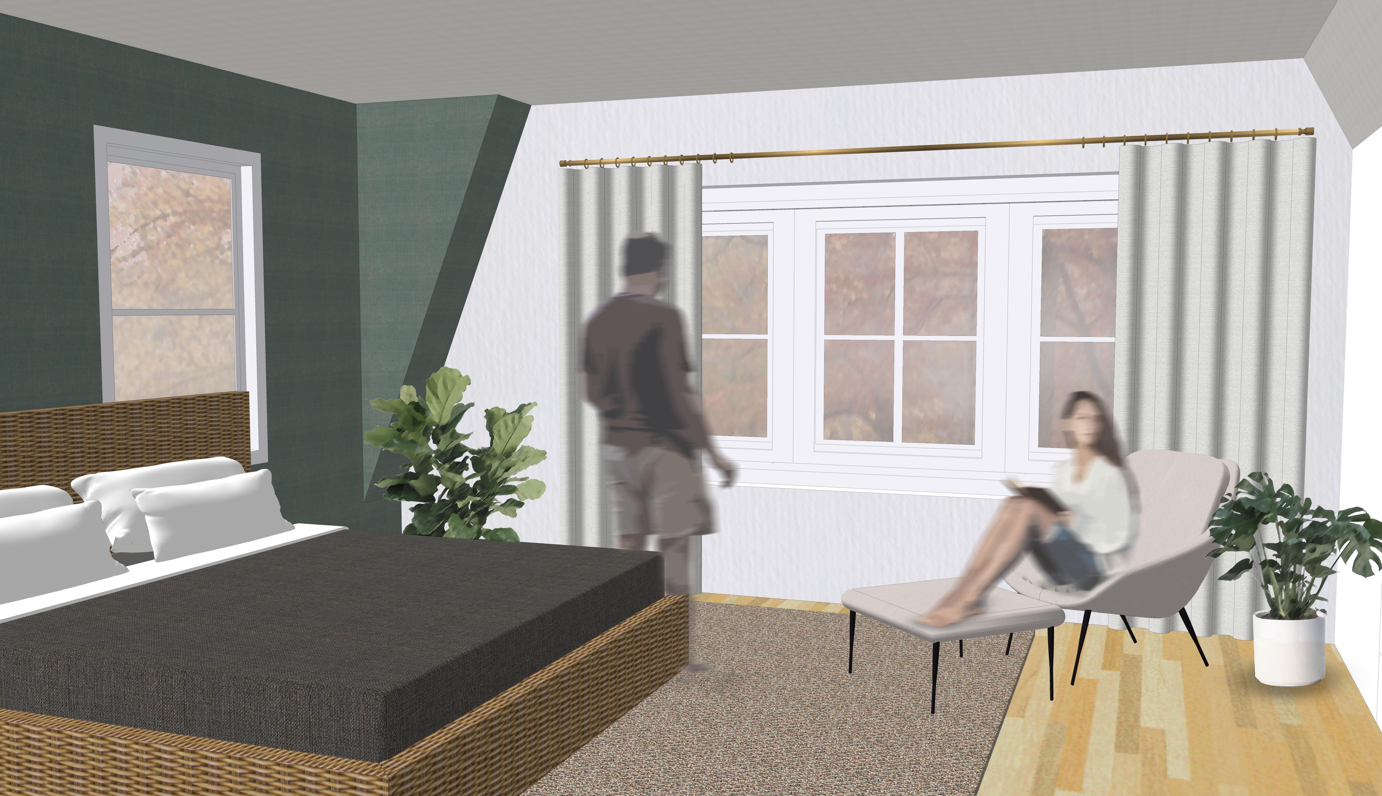 Newton - Master Bedroom