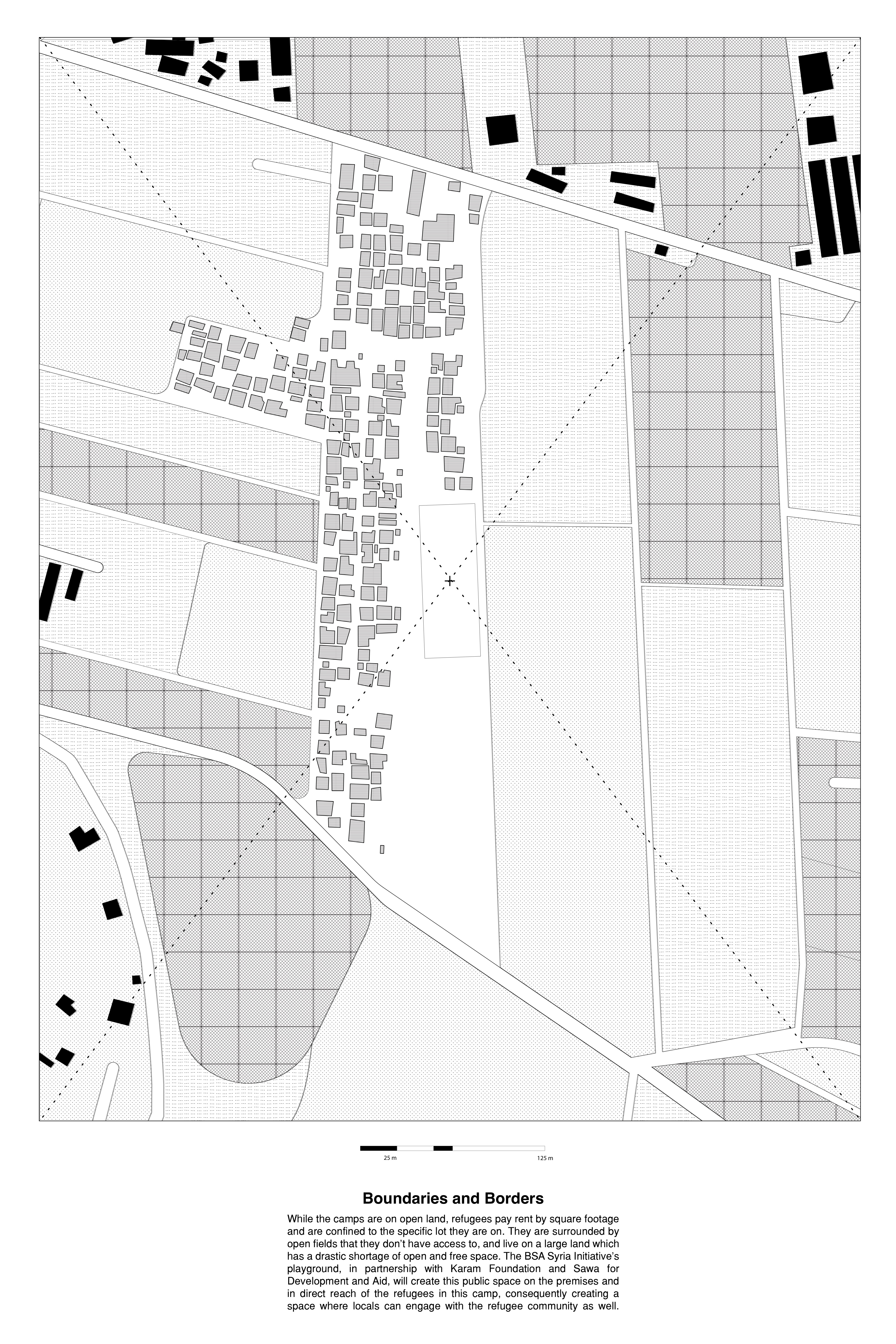 Sitemap - scale 1:1000