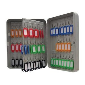 Value Cathedral Value Key Cabinet with 93 Coloured Key Tags