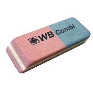 Value Blue/Red Eraser 40 Pack