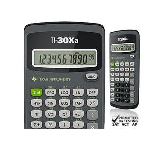 Value Texas Instruments TI-30Xa Scientific Calculator