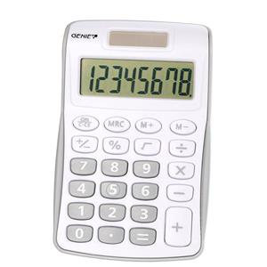 Value Genie 120B Compact Pocket Calculator 8 Digit Display (silver)