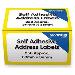 Value Address Labels on a Roll 250 Box