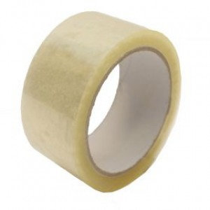 "Value Clear Packing Tape 48mm 2"" (6 x Pack)"