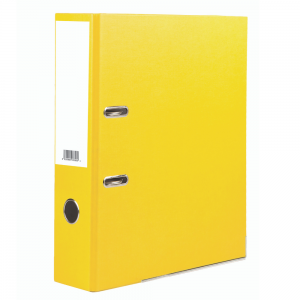 Value A4 Lever ArchYellow (Pack of 10)