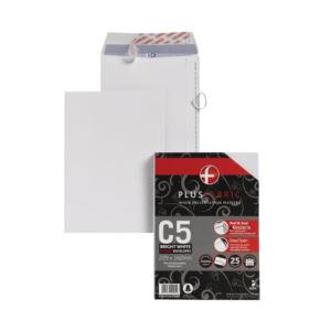 Value Plus Fabric Envelopes (C5) Peel and Seal 110g/m2 Pack 25