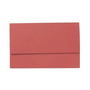 Value Exaclair Guildhall Document Wallets Red (Pack of 50)