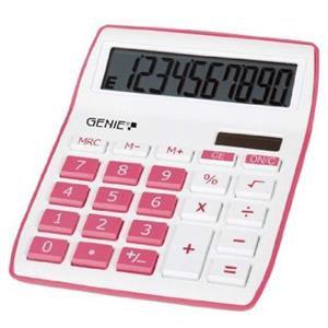 Value Genie 840P Desktop Calculator (Pink)
