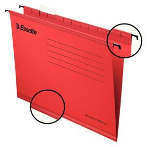 Value Esselte Classic (Foolscap) Suspension File (Red) 1 x Pack of 25