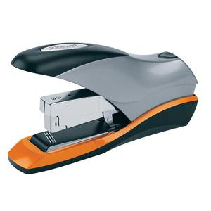 VALUE Rexel Optima 70 Low Force Heavy Duty Stapler (Silver/Black/Orange)