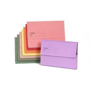 Value Exaclair Guildhall Document Wallets Assorted