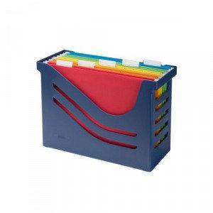 Value Jalema Re-Solution (A4) Office Box (Blue) with 5 Euroflex Suspens