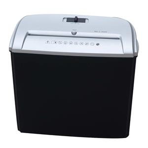 Value Cathedral (4x40mm) Document Shredder Cross Cut 5-Sheets 12L (Black/Silver)