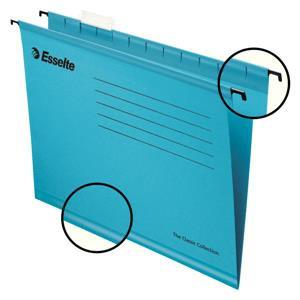 Value Esselte Classic (Foolscap) Suspension File (Blue) 1 x Pack of 25