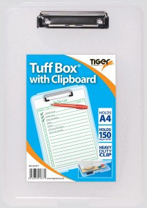 Value A4 Clip Board with built in Storage Box