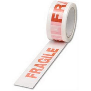 Fragile Tape 48mm x66M ( 6x Pack)