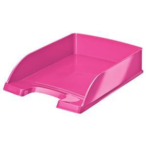 Leitz Plus WOW Letter Tray (Metallic Pink)