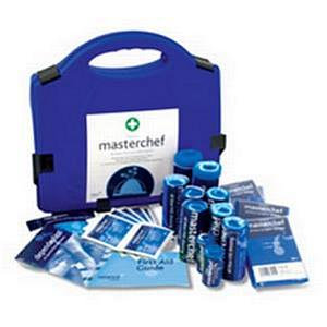 Value Masterchef all Blue Fist Aid Kit (1-10 Persons)