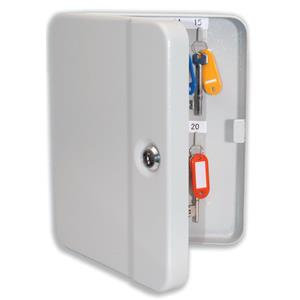 Value Key Cabinet Steel (Grey) with Lock and Wall Fixings 20