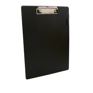 Value PVC Single (A4) Clipboard (Black,Blue or Red)