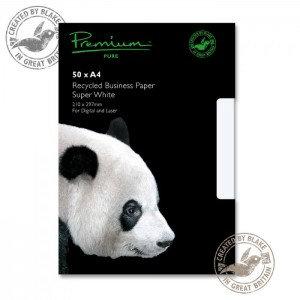 Value Woven Blake Premium Pure (A4) 120g/m2 Paper (Super White) Pack of 50