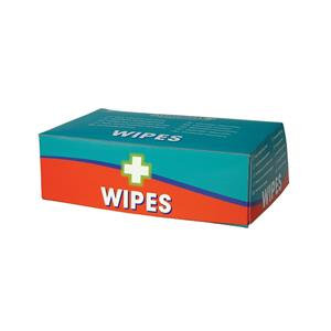 Value Wallace Cameron Wipes Alcohol Free for all First-Aid Kits (Pack of 100)