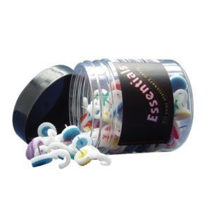 Value Essentials Hook Push Pins (Assorted) Tub of 100