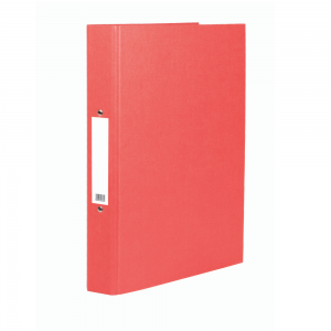 Value A4 Ring Binder Red (Pack of 10)