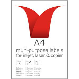 Value A4 Labels 100 Pack (8 Labels)