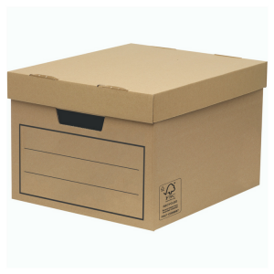 Value Storage and Archive Boxes W32 x H25 x D39cm (Pack of 10)