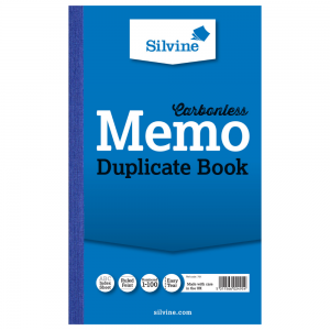 Value Silvine Duplicate Book Carbonless 216mmx130mm  1-100 (Pack 6)