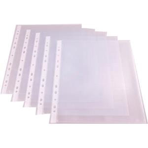 A4 Poly Pockets GLASS CLEAR (100 Pack )