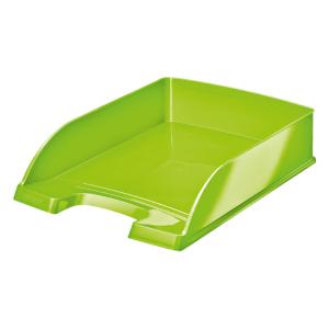 Leitz Plus WOW Letter Tray (Metallic Green)