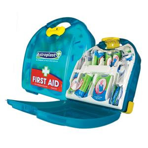 Value HS1 First-Aid Kit Dispenser for 10 Persons (Blue)