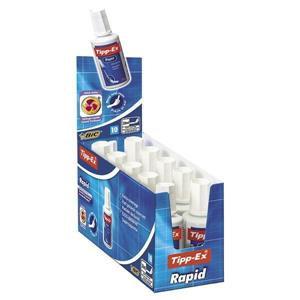 Value Tipp-Ex (20ml) Rapid Correction Fluid (White) - Pack of 10