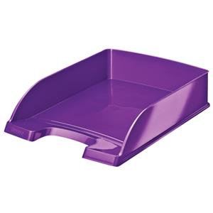 Leitz Plus WOW Letter Tray (Metallic Purple)
