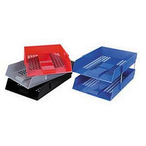 Value Deflecto Letter Tray (Choice of Colours)